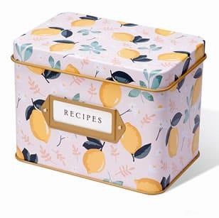 recipe card gift box