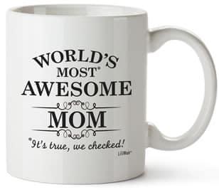world's most awesome mom coffee mug