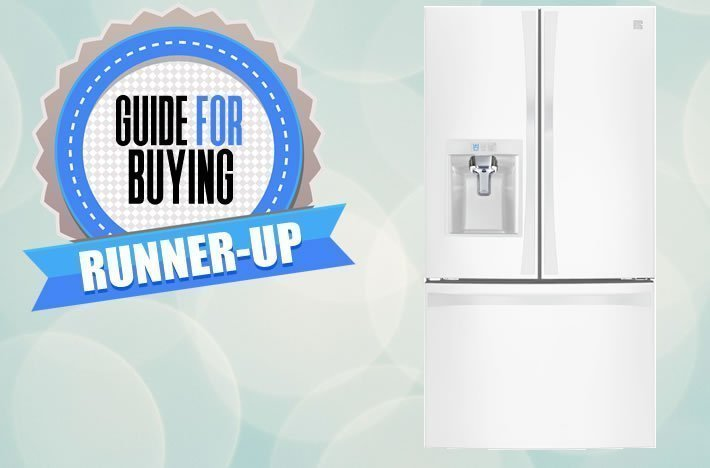 Kenmore Smart 24 cu. ft. Counter Depth French Door Bottom Freezer Refrigerator