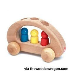 the wooden wagon