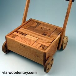 wood wagon by John Michael Linck