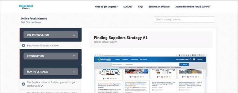 inside online retail mastery review