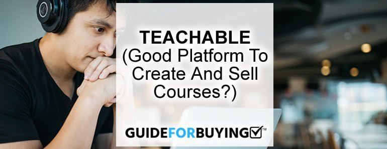 Cheap Course Creation Software  Teachable   For Sale Under 50