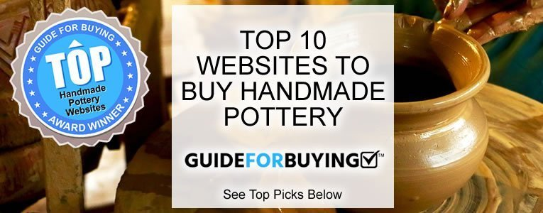 top 10 websites to buy handmade pottery