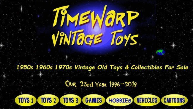 retro toys - Time Warp Toys