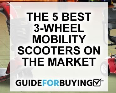 5 best 3-wheel scooters
