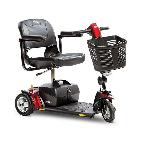 pride 3-wheel mobility scooter