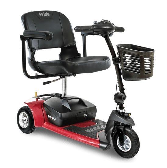 Pride Mobility Go-Go Ultra X 3-Wheel Scooter