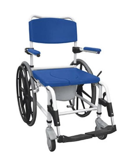 Aluminum Shower Commode Chair