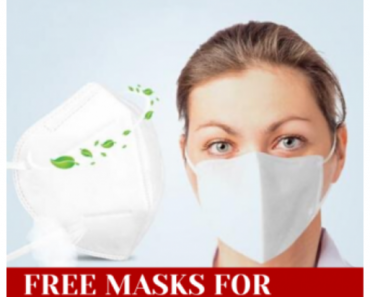 Free KN95 masks for nurses and doctors