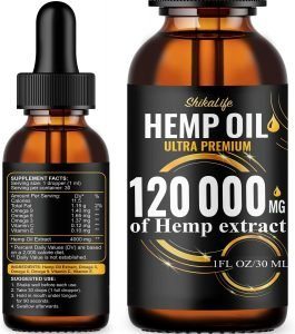 Hemp Oil Ultra Premium – 120,000 mg