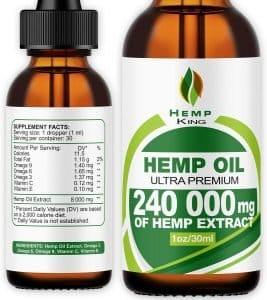 Hemp Oil Ultra Premium – 240,000 mg