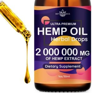 Ultra Premium Hemp Oil Herbal Drops